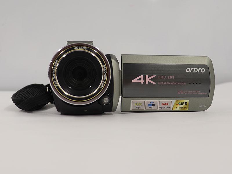 4Kビデオカメラの画像